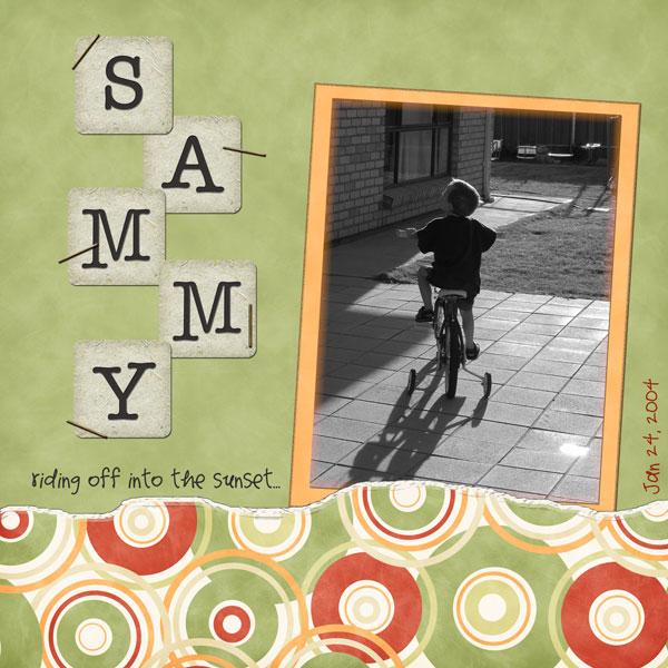 Sammy-sunset