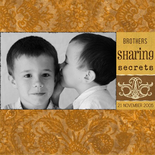 Sharing-secrets