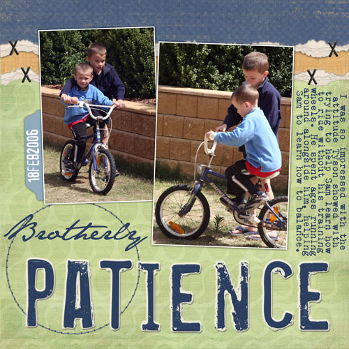 Brotherly-patience
