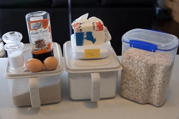 Nutties - the ingredients.