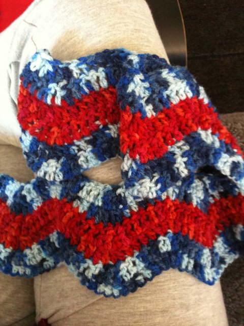 New crochet project