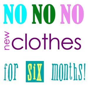 No new clothes pledge
